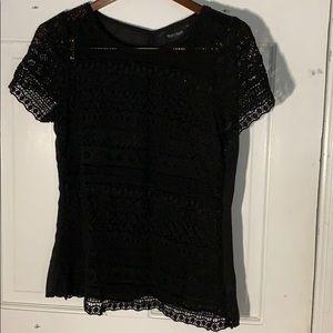 White House Black Market lace top